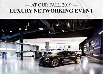 A Night of Networking and Entertainment at an Exclusive Car Lounge