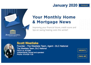 1st Newsletter of 2020 Our January Mortgage Newsletter