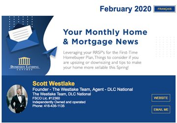 Our February Monthly Mortgage Newsletter