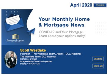 Monthly Mortgage Newsletter April 2020