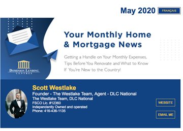 Monthly Mortgage Newsletter May 2020