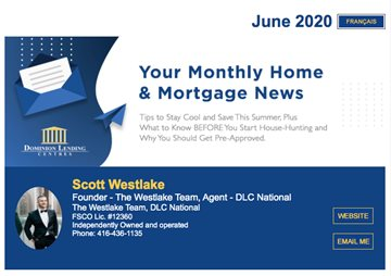 Welcome To The June 2020 Issue Of Our Mortgage Newsletter