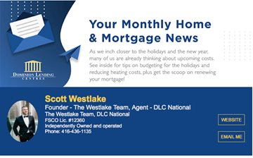 Monthly Mortgage Newsletter October 2020