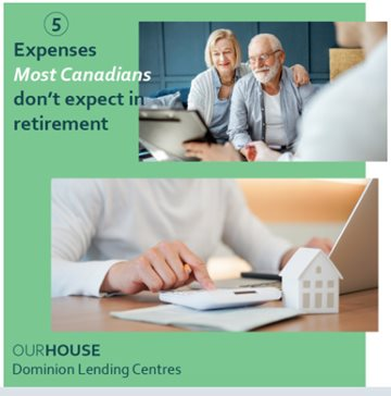 5 Expenses Most Canadians Dont Expect In Retirement