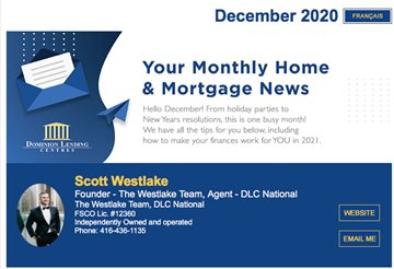 Monthly Mortgage Newsletter - December 2020
